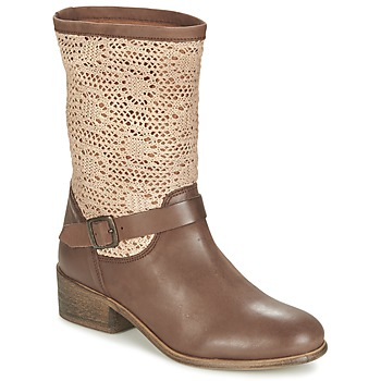 kengät Naiset Bootsit Betty London CASTAGNO Brown