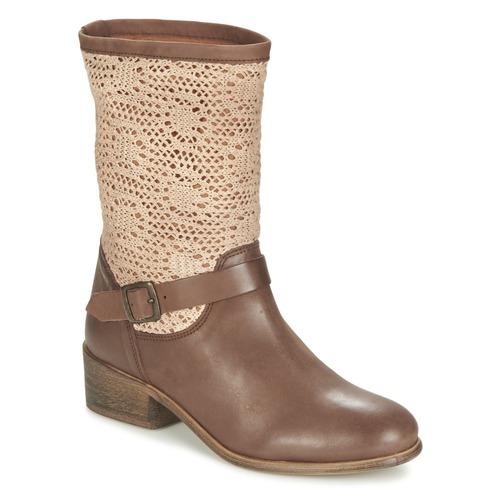 kengät Naiset Bootsit Betty London CASTAGNO Brown