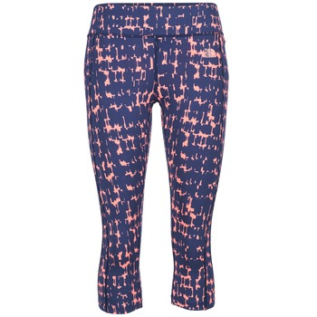 vaatteet Naiset Legginsit The North Face PULSE CAPRI TIGHT Laivastonsininen / Pink