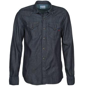 vaatteet Miehet Pitkähihainen paitapusero Replay M4860N Grey