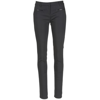 vaatteet Naiset 5-taskuiset housut Tommy Hilfiger MARTA Musta
