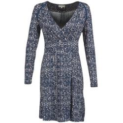 vaatteet Naiset Lyhyt mekko Cream OMAGA Blue