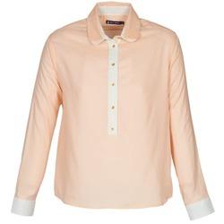 vaatteet Naiset Paitapusero / Kauluspaita Petit Bateau FILAO Vaaleanpunainen
