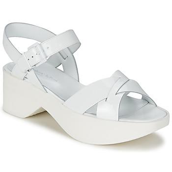 kengät Naiset Sandaalit ja avokkaat Stéphane Kelian FLASH 3 White