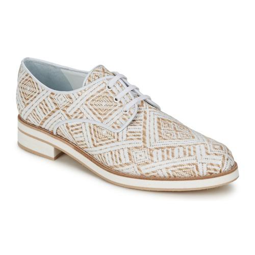 kengät Naiset Derby-kengät Stéphane Kelian HUNA 7 Valkoinen