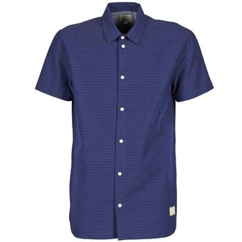 vaatteet Miehet Lyhythihainen paitapusero Suit DAN S Blue