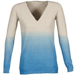 vaatteet Naiset Neulepusero Gas DESHI BEIGE / Blue