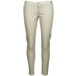 vaatteet Naiset 5-taskuiset housut Little Marcel PRANTI Beige