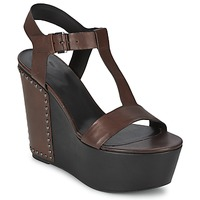 kengät Naiset Sandaalit ja avokkaat Vic GIBSON Brown