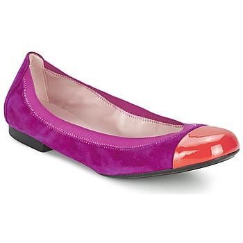 kengät Naiset Balleriinat Pretty Ballerinas HONEY Violet