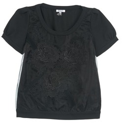 vaatteet Naiset Topit / Puserot Brigitte Bardot BB44160 Black