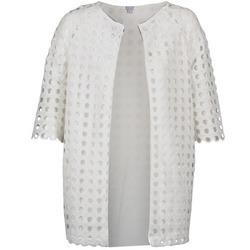 vaatteet Naiset Paksu takki Brigitte Bardot BB44197 Valkoinen