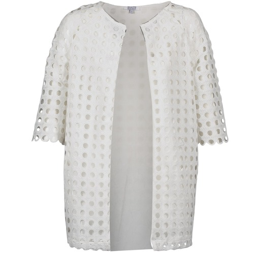 vaatteet Naiset Paksu takki Brigitte Bardot BB44197 White