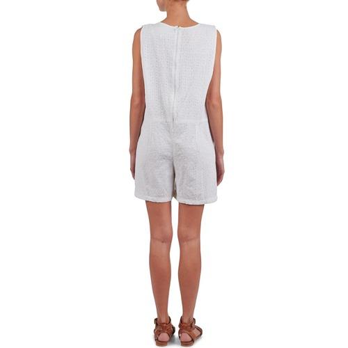 Brigitte Bardot Bb44084 White - Ilmainen Toimitus- Vaatteet Jumpsuits Naiset 131