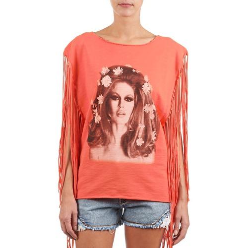 Brigitte Bardot Bb44075 Corail - Ilmainen Toimitus- Vaatteet Hihattomat Paidat / T-paidat Naiset 73