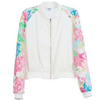 vaatteet Naiset Takit Brigitte Bardot BB44045 White / Monivärinen