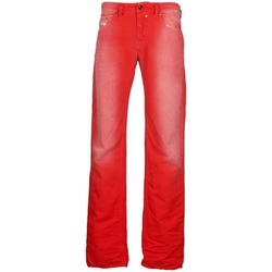 vaatteet Miehet Suorat farkut Diesel SAFADO Red
