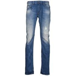 vaatteet Miehet Slim-farkut Diesel THAVAR Blue