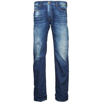 vaatteet Miehet Suorat farkut Diesel WAYKEE Blue
