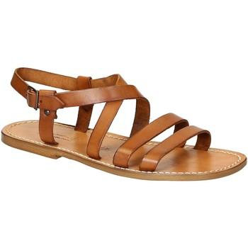 kengät Miehet Sandaalit ja avokkaat Gianluca - L'artigiano Del Cuoio 531 U CUOIO CUOIO Cuoio