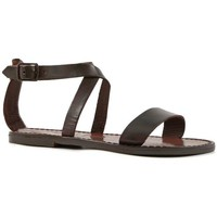 kengät Naiset Sandaalit ja avokkaat Gianluca - L'artigiano Del Cuoio 509 D MORO CUOIO Testa di Moro