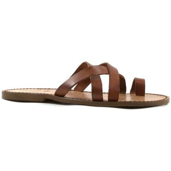 kengät Miehet Sandaalit ja avokkaat Gianluca - L'artigiano Del Cuoio 549 U CUOIO CUOIO Cuoio