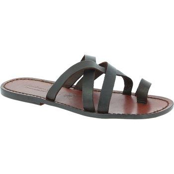 kengät Miehet Sandaalit ja avokkaat Gianluca - L'artigiano Del Cuoio 549 U MORO CUOIO Testa di Moro
