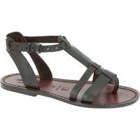 kengät Naiset Sandaalit ja avokkaat Gianluca - L'artigiano Del Cuoio 572 D MORO CUOIO Testa di Moro