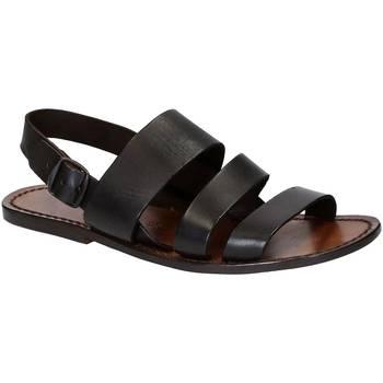 kengät Miehet Sandaalit ja avokkaat Gianluca - L'artigiano Del Cuoio 507 U MORO CUOIO Testa di Moro