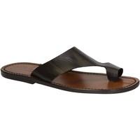 kengät Miehet Sandaalit ja avokkaat Gianluca - L'artigiano Del Cuoio 521 U MORO CUOIO Testa di Moro
