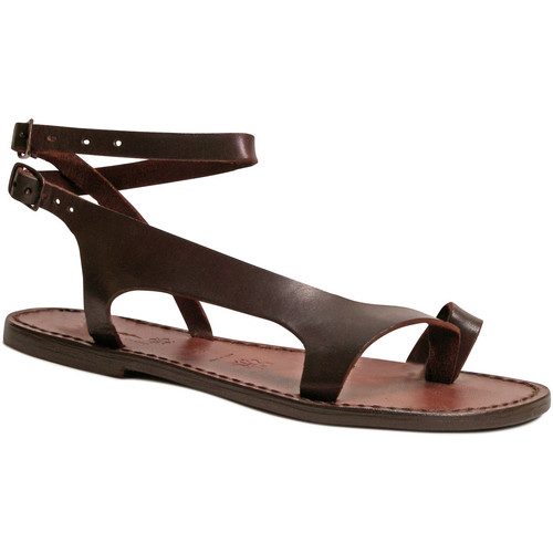 kengät Naiset Sandaalit ja avokkaat Gianluca - L'artigiano Del Cuoio 526 D MORO CUOIO Testa di Moro