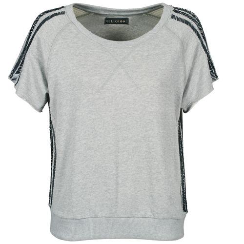 vaatteet Naiset Lyhythihainen t-paita Religion B114HRW02 Grey