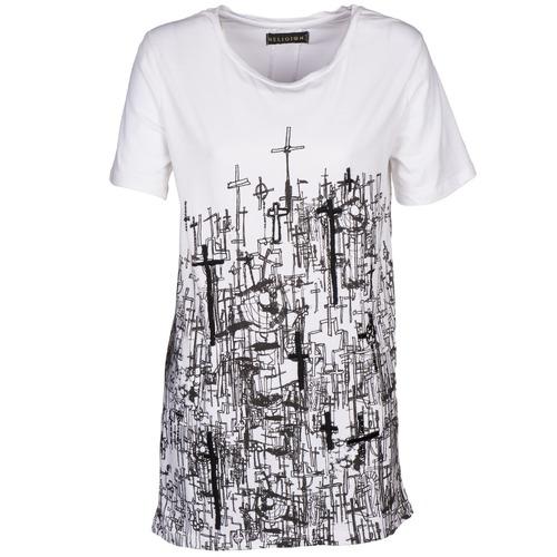 vaatteet Naiset Lyhythihainen t-paita Religion B123CND13 White