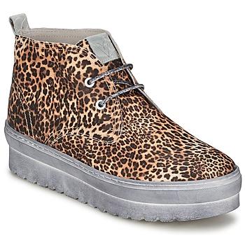 kengät Naiset Korkeavartiset tennarit Ylati BAIA F Leopardi