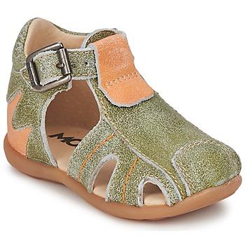 kengät Pojat Sandaalit ja avokkaat Mod'8 ALUCINE Green / Orange