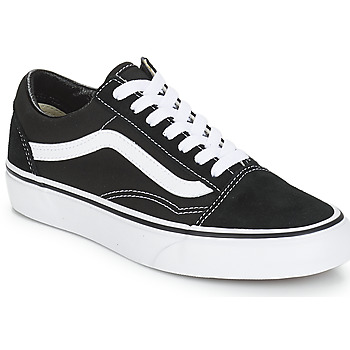 kengät Matalavartiset tennarit Vans OLD SKOOL Black / White