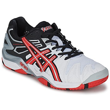 kengät Miehet Tenniskengät Asics GEL-RESOLUTION White / Red / Black