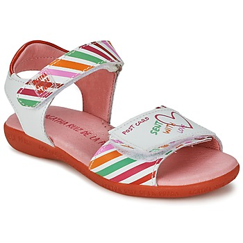 kengät Tytöt Sandaalit ja avokkaat Agatha Ruiz de la Prada CAZOLETA White / Monivärinen