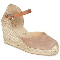 kengät Naiset Sandaalit ja avokkaat Unisa CACERES BEIGE