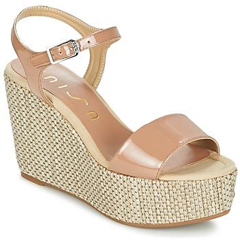 kengät Naiset Sandaalit ja avokkaat Unisa LITUAN BEIGE / Pink
