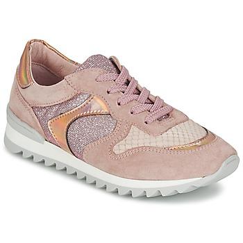 kengät Naiset Matalavartiset tennarit Unisa DALTON Vaaleanpunainen
