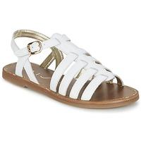 kengät Naiset Sandaalit ja avokkaat Unisa YOLETA White