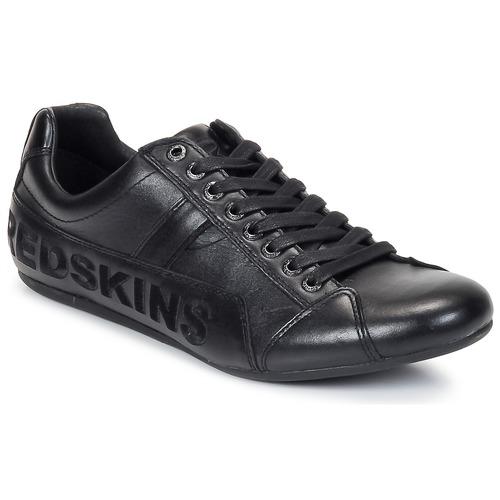 kengät Miehet Matalavartiset tennarit Redskins TONIKO Musta