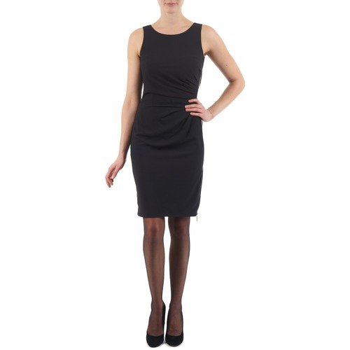 vaatteet Naiset Lyhyt mekko Esprit BEVERLY CREPE Black