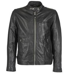 vaatteet Miehet Nahkatakit / Tekonahkatakit Schott BLODOU Black