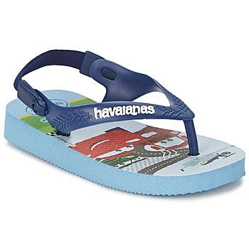 kengät Tytöt Varvassandaalit Havaianas PIXAR Laventeli / Sininen