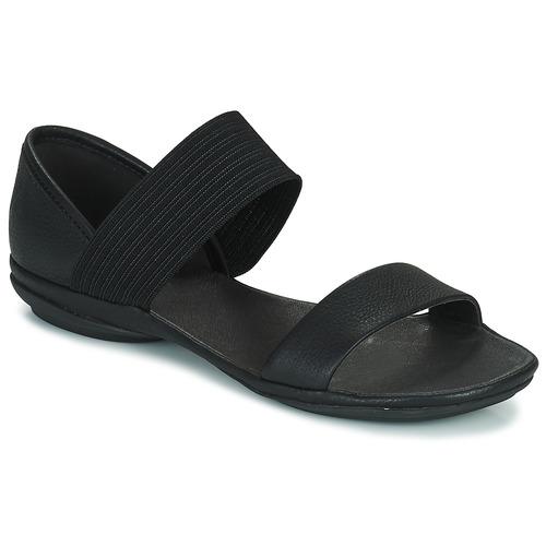 kengät Naiset Sandaalit ja avokkaat Camper RIGHT NINA Black