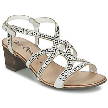 kengät Naiset Sandaalit ja avokkaat Lola Espeleta GRILLION White