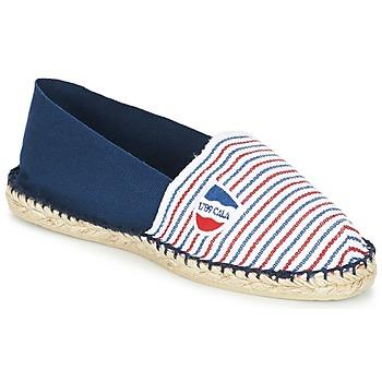 kengät Espadrillot 1789 Cala CLASSIQUE BICOLORE Sininen / Valkoinen / Punainen