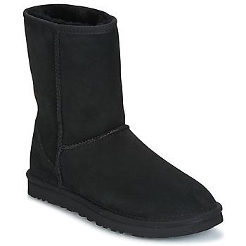 kengät Naiset Bootsit UGG CLASSIC SHORT Black